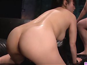 strenuous point of view asian pornography with nude Azusa Nagasawa