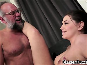 tatted babe rails grandpa
