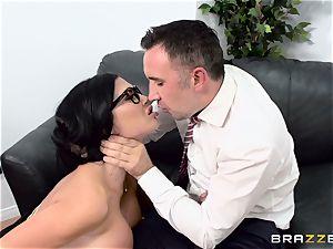 stiffy gasping british honey Jasmine Jae banged in her rump