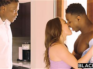 BLACKED horny Housewife requests To Be predominated By two BBCs