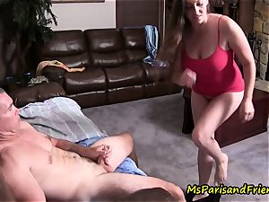 father daughter-in-law Get busted, Caught in the action by mom