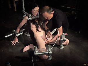 bondage nubile in rock hard bdsm penalty kinky behavior