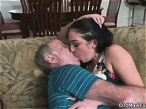 old fellow poke nubile hd and studs piss on Frannkie s a rapid learner!