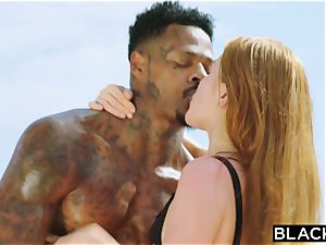 BLACKED big black cock longing red Head Gets dominated On Vacation