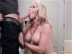 Mean mom Simone Sonay gets drilled by daughters-in-law boy