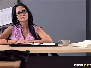 buxom schoolteacher Ava Addams is romped by her schoolgirl