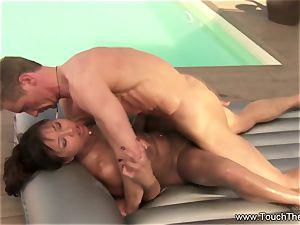 Nuru massage With The Nig lollipop