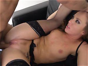 Maddy OReilly jammed utter in her underwear