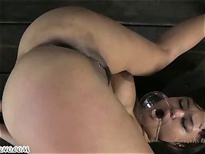 round brazilian poor girl is ready for anal invasion bondage & discipline